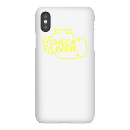 Chek Liver Funny Tshirt Iphonex Case Designed By Alex