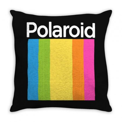 Colorful Throw Pillow Designed By Frizidan