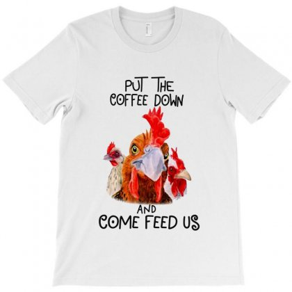 Coffee Down T-shirt Designed By Frizidan