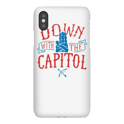 Down With The Capitol Funny Tshirt Iphonex Case Designed By Alex