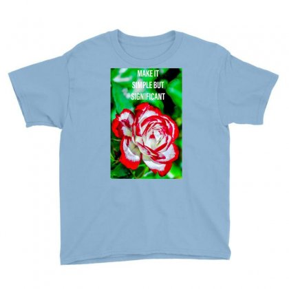 Flower Youth Tee Designed By Harry