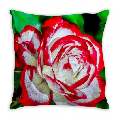 Flower Throw Pillow Designed By Harry