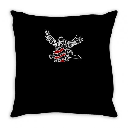 Clarence And Alabama Funny Tshirt Throw Pillow Designed By Alex