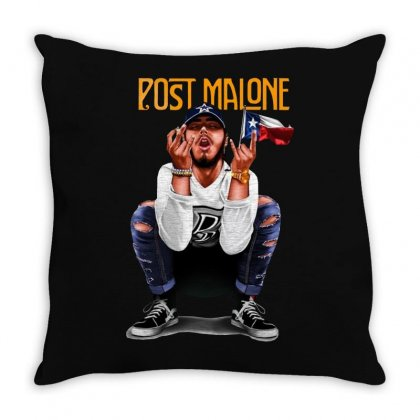 Came Up – [post Malone] Throw Pillow Designed By Frizidan