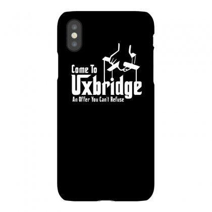Come To Uxbridge Funny Tshirt Iphonex Case Designed By Alex
