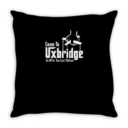 Come To Uxbridge Funny Tshirt Throw Pillow Designed By Alex