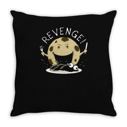 Cookie's Revenge Funny Tshirt Throw Pillow Designed By Alex