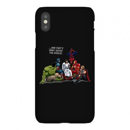 And That's How I Saved The World Jesus Iphonex Case Designed By Fejena
