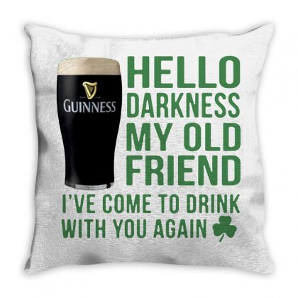 Darkness Throw Pillow Designed By Frizidan