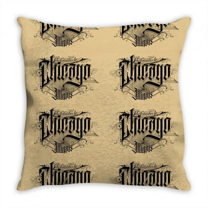 Chicago Throw Pillow Designed By Tiococacola