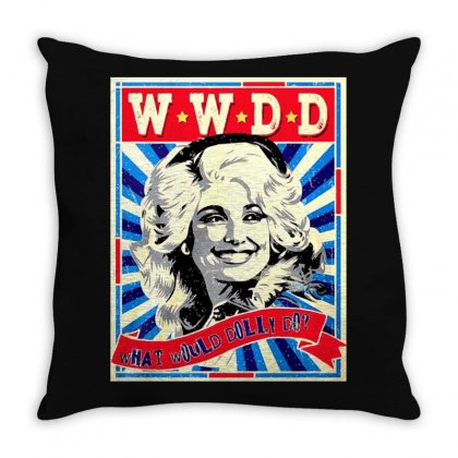 Dolly Throw Pillow Designed By Frizidan