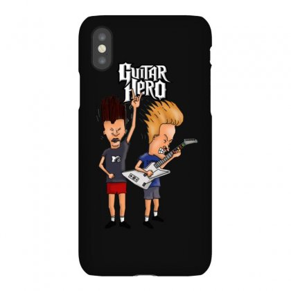 Beavis And Butthead Playing Guitar Hero Iphonex Case Designed By Fejena