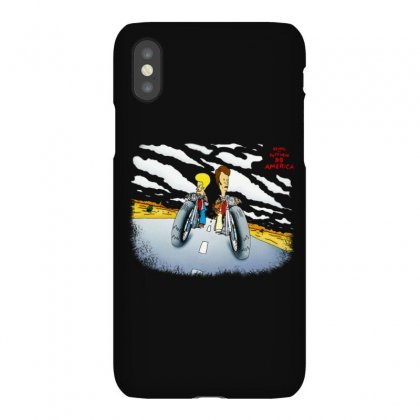 Beavis And Butthead Do America Iphonex Case Designed By Fejena
