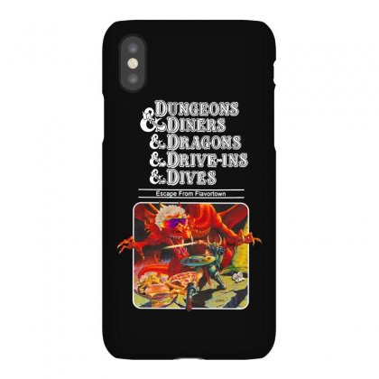 Dungeons &  Dragons Escape From Flavortown Iphonex Case Designed By Frizidan