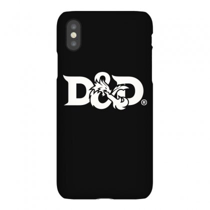Dragon Clipart Dungeons And Dragon (white) Iphonex Case Designed By Frizidan