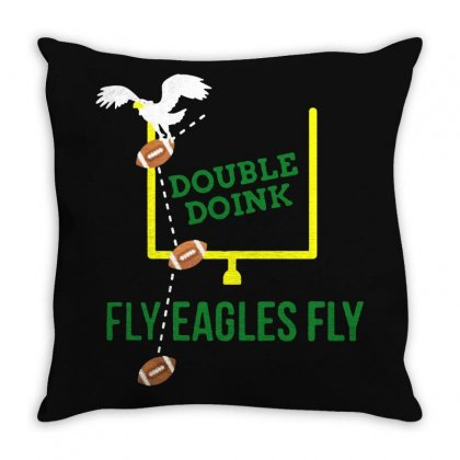 Double Doink Throw Pillow Designed By Frizidan