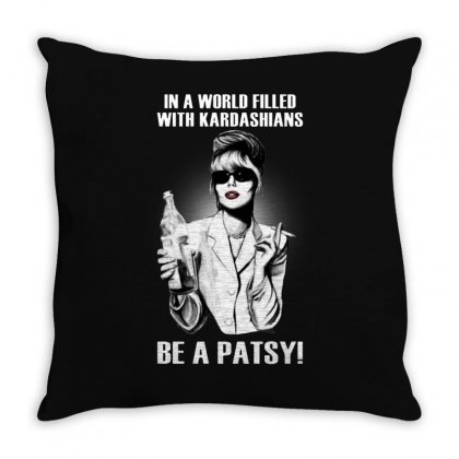 Be A Patsy Throw Pillow Designed By Fejena
