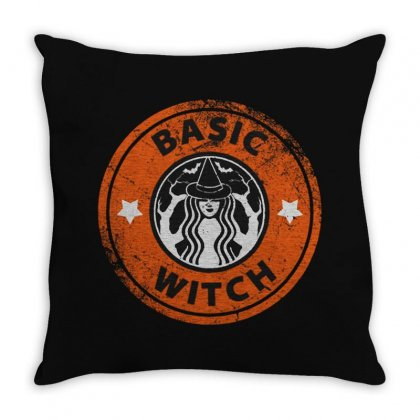 Basic Witch Throw Pillow Designed By Fejena