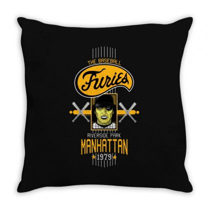Baseball Furies Throw Pillow Designed By Fejena