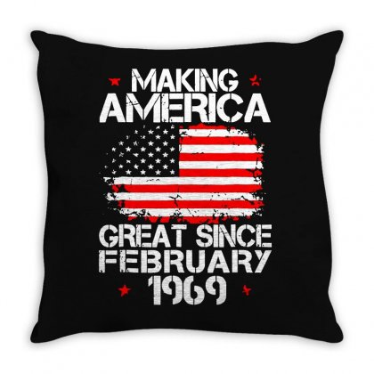 Flag Great Throw Pillow Designed By Frizidan