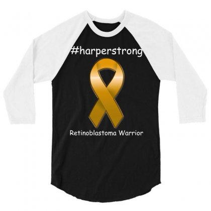 Harperstrong T Shirt 3/4 Sleeve Shirt Designed By Hung