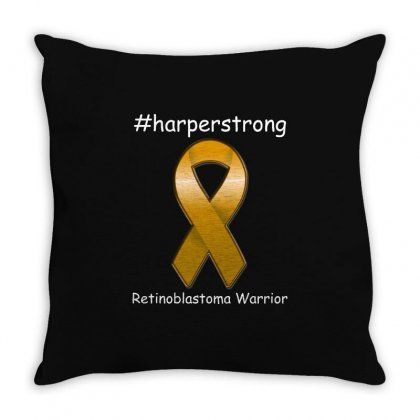 Harperstrong T Shirt Throw Pillow Designed By Hung