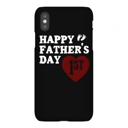 Happy 1st Fathers Day T Shirt Iphonex Case Designed By Hung