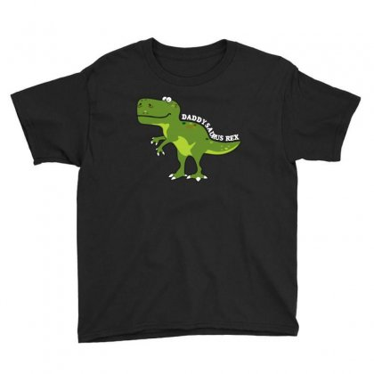 Daddysaurus Rex T Shirt Youth Tee Designed By Hung