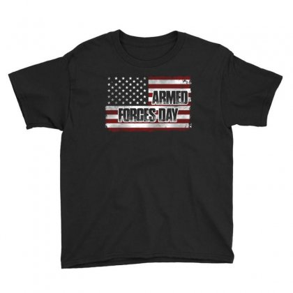 Armed Forces Day T Shirt Youth Tee Designed By Hung