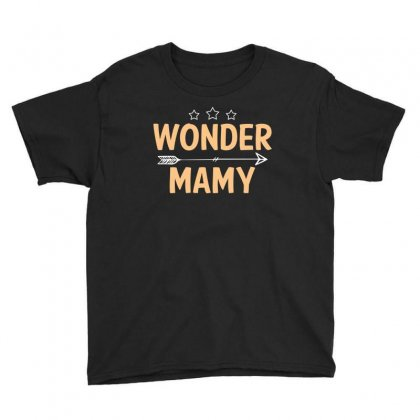 Wonder Mamy T Shirt Youth Tee Designed By Hung