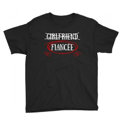 Womens Girlfriend Fiancee T Shirt Youth Tee Designed By Hung