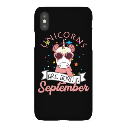 Unicorns Are Born In September T Shirt Iphonex Case Designed By Hung