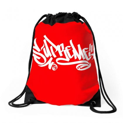 Supreme Drawstring Bags Designed By Tiococacola