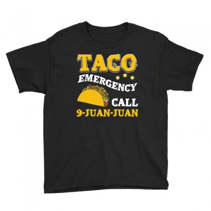 Taco Emergency T Shirt Youth Tee Designed By Hung