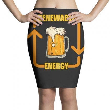 Renewable Energy T Shirt Pencil Skirts Designed By Hung