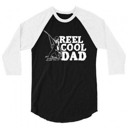 Real Cool Dad T Shirt 3/4 Sleeve Shirt Designed By Hung