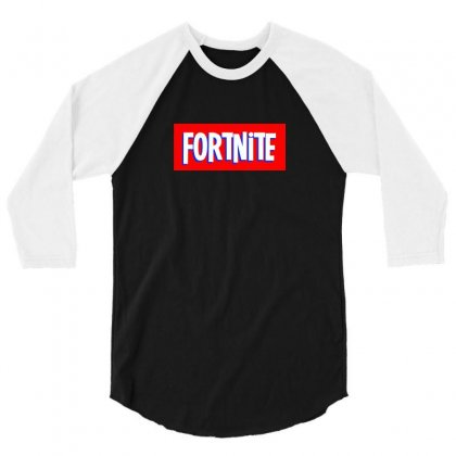Fornite 2 3/4 Sleeve Shirt Designed By Tiococacola
