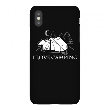 I Love Camping T Shirt Iphonex Case Designed By Hung