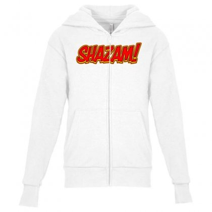 Shazam! 2 Youth Zipper Hoodie Designed By Tiococacola