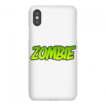 Zombie Iphonex Case Designed By Tiococacola