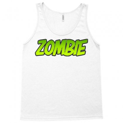 Zombie Tank Top Designed By Tiococacola