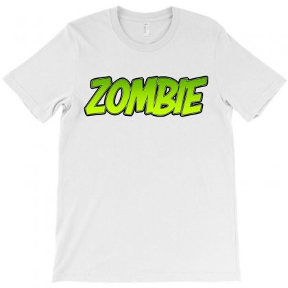 Zombie T-shirt Designed By Tiococacola