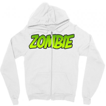 Zombie Zipper Hoodie Designed By Tiococacola