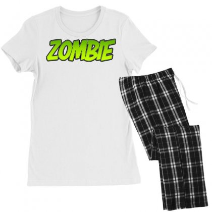 Zombie Women's Pajamas Set Designed By Tiococacola