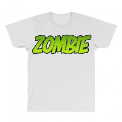 Zombie All Over Men's T-shirt Designed By Tiococacola