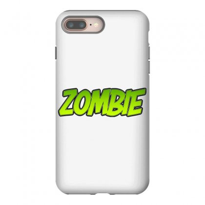 Zombie Iphone 8 Plus Case Designed By Tiococacola