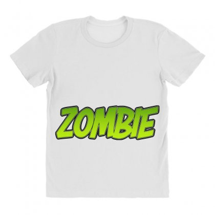 Zombie All Over Women's T-shirt Designed By Tiococacola