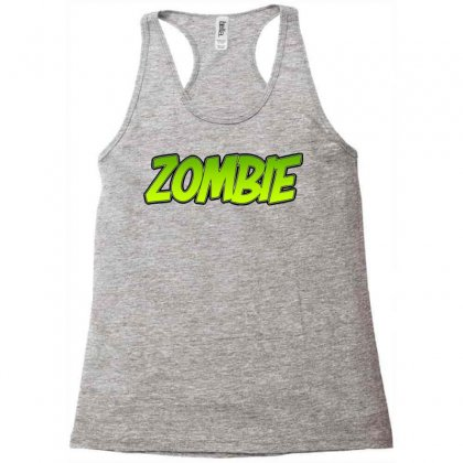 Zombie Racerback Tank Designed By Tiococacola