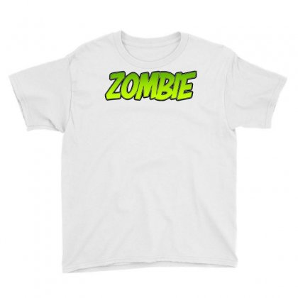 Zombie Youth Tee Designed By Tiococacola