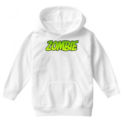 Zombie Youth Hoodie Designed By Tiococacola